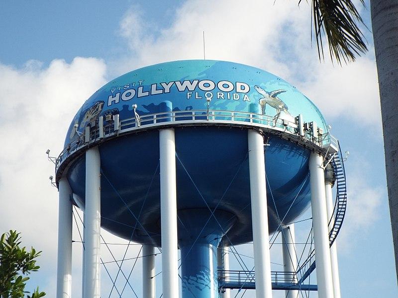 800px Florida Hollywood Water Tank